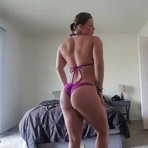 Ravishsands purple rhinestone competition bikini